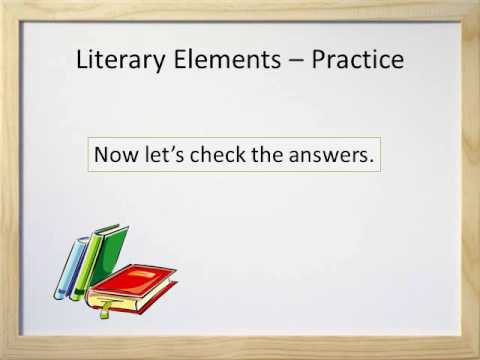 Literary Elements Parts Of A Story Video And Worksheet