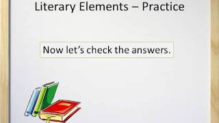 Literary Elements (Parts of a Story) - Video and Worksheet