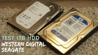 Western Digital Blue vs Seagate Barracuda | test 1TB dysków twardych!