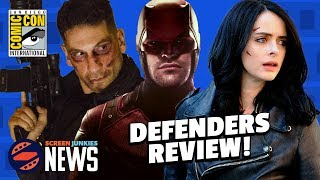 (SPOILERS) Defenders First Episode Review + Punisher Tease! - SDCC 2017
