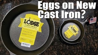 How to Cook an Egg in a New Cast Iron Skillet Without It Sticking