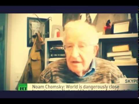 Noam Chomsky : The World Is Cruising Toward Nuclear War - WW3 is near!