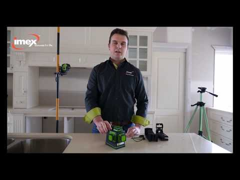 IMEX LX3D 3 Dimension Multi Liner Laser Level