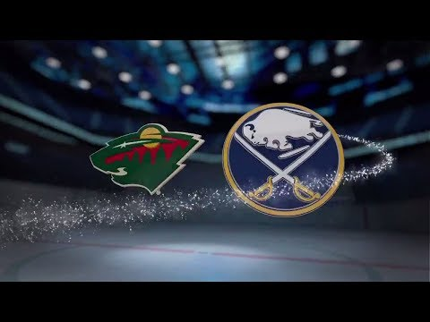Minnesota Wild vs Buffalo Sabres - November 22, 2017 | Game Highlights | NHL 2017/18. Обзор матча