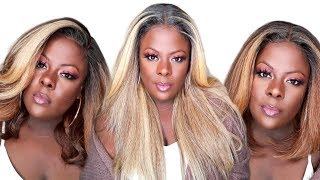 FINALLY Brown Girl BLONDES || Outre NEESHA Soft & Natural LookBook