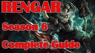 League of Legends Full Rengar Guide | Season 6 | Patch 5.24