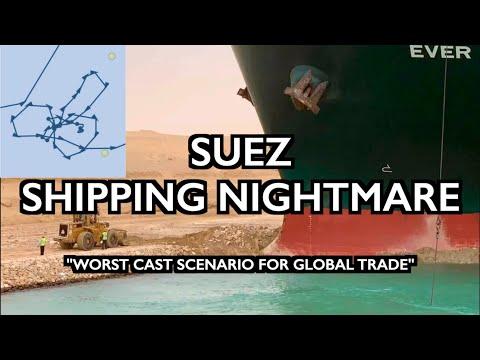 "Suez Canal Blocked: A ""Worst Case Scenario for Global Trade"""
