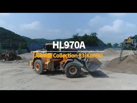 Video Kolové kloubové nakladače Hyundai HL970A