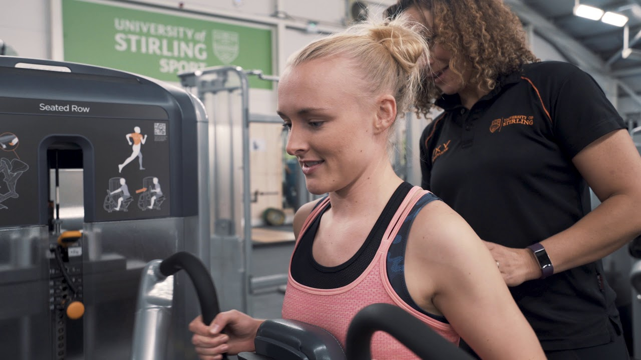 Gym Induction | Student life | University of Stirling