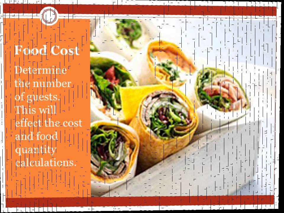 How to Calculate Cost & Quantities of Catering Food - YouTube