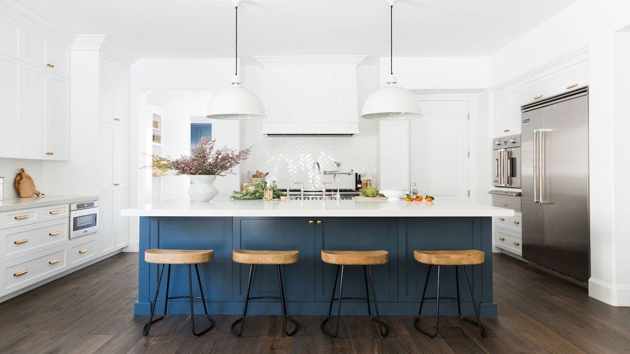 calabasas remodel: kitchen, dining, laundry room tour - youtube
