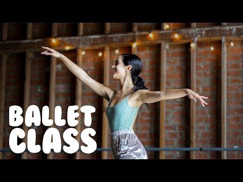 Ballet Class For Beginners, Part One | How To Do Simple Ball