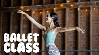 Ballet Class For Beginners | How To Do Simple Ballet Moves With @MissAuti
