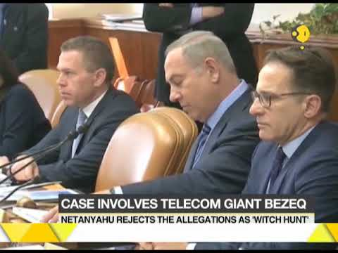 Israeli PM Benjamin Netanyahu questioned in telecom corruption case