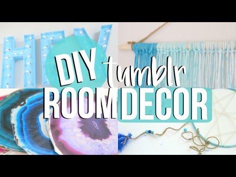 DIY Tumblr Room Decor 2016!
