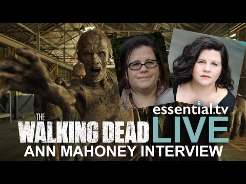 Interview with The Walking Dead's Ann Mahoney - ETV Live