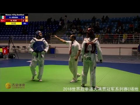 Day2 Court C | Open Qualification Tournament I for Wuxi 2018 World Taekwondo Grand Slam