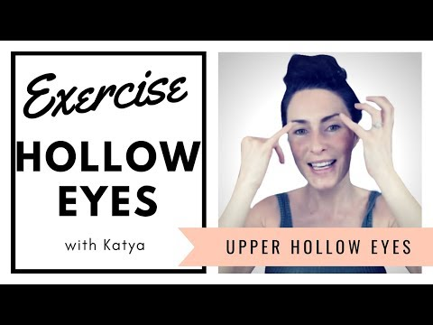 Eye Exercises for Hollow Eyes