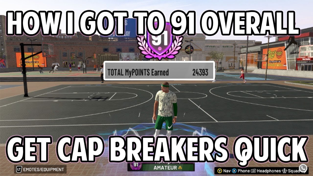 NBA 2K19 HOW I GOT TO 91 OVERALL QUICK! BEST REP UP METHOD 20-25K MYPOINTS  5 MIN QUARTERS!