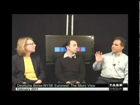 Deutsche Borse-NYSE Euronext: The Micro View - TABB TV