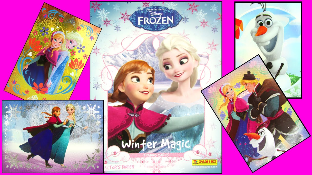 Disney Frozen Fever Winter Magic Collectible Surprise Sticker Packs   Album  Toy Review Panini 52e70b4543f3