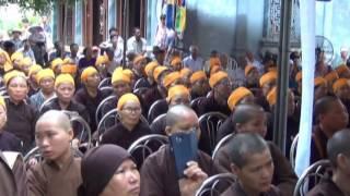 Lễ an táng sư thầy Thích Đàm Nhung
