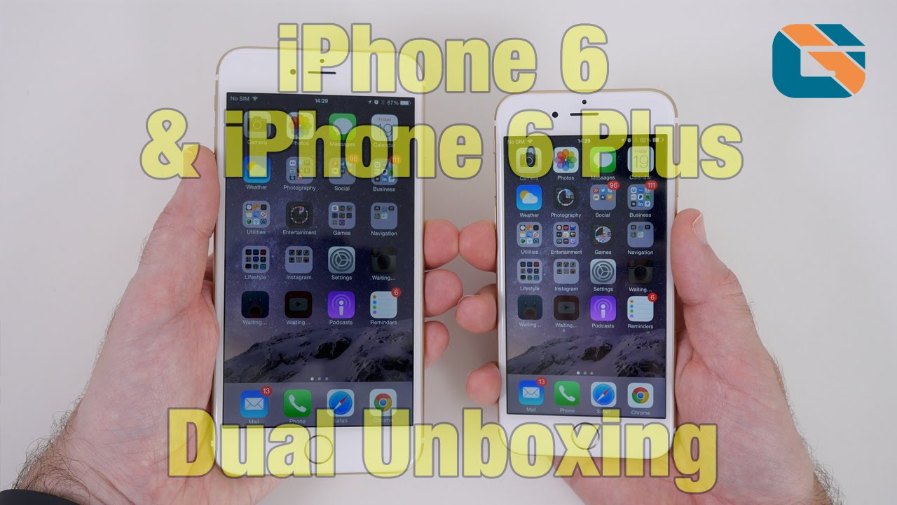 Apple iPhone 6 & iPhone 6 Plus Unboxing & First Look | What Did Apple Deliver Me?