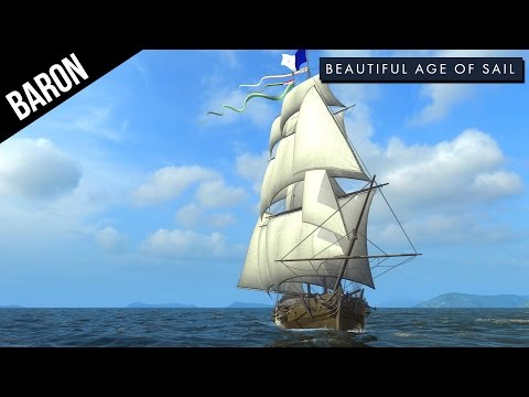 Naval Action Age Game - Baron's Bruising Brig!