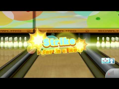 Wii Sports Club Online Bowling 10 Pin Friend Game