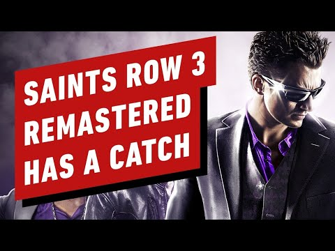 Saints Row 3 Remastered Has a Catch