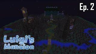 Minecraft aventure - Luigi's Mansion - Ep 2