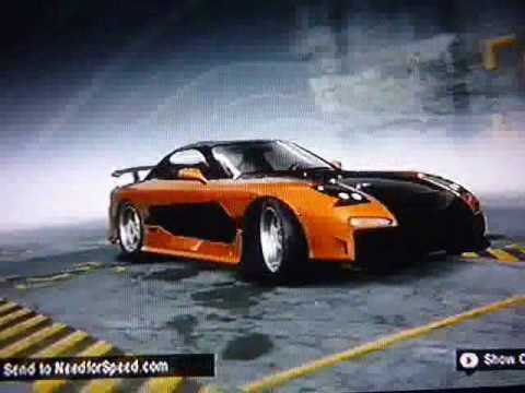 My Nfs Prostreet Fast And Furious Tokyo Drift Cars Youtube