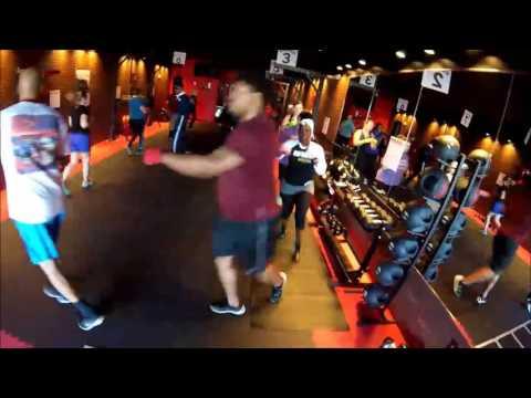 "9Round Madison Alabama - Midtown - Mr. Xavier ""Bad Pads"" Biggs Workout!!!"
