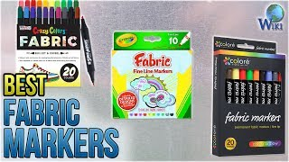 10 Best Fabric Markers 2018