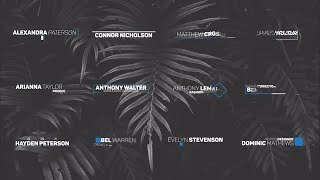 Modern Lower Thirds Motion Graphics Templates