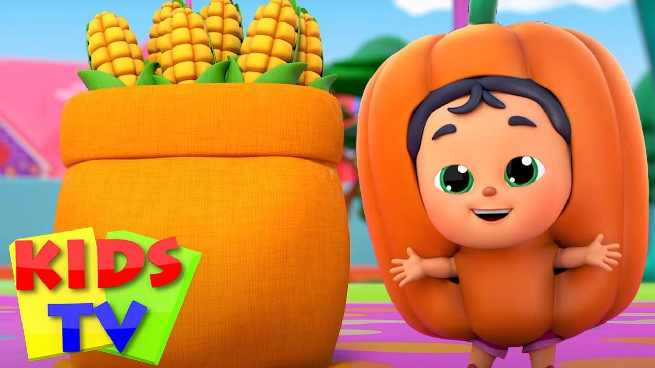 Sebze şarkısı | Çocuklar için şiirler | Kids TV Türkçe | Eğitim videoları