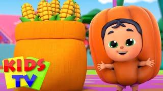 Sebze şarkısı  Çocuklar için şiirler  Kids TV Türkçe  Eğitim videoları