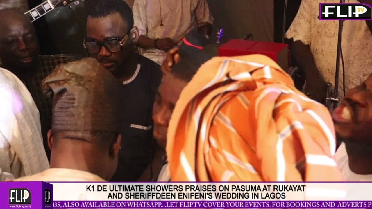 Download K1 DE ULTIMATE SHOWERS PRAISES ON OLA SHEHU ABANA, PASUMA AT RUKAYAT AND SHERIFF ENIFENI'S WEDDING