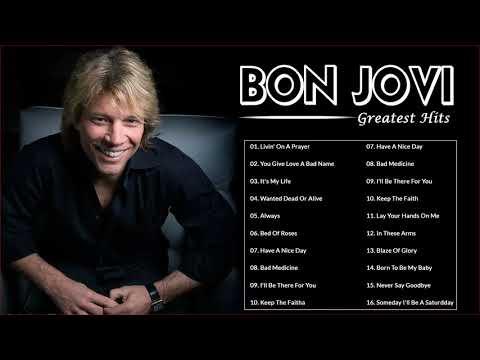 Bon Jovi Songs 2021 || Bon Jovi Greatest Hits Full Album