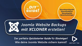 Joomla 3 Tutorial XCLONER Backup for Joomla 3.0 installieren Deutsch #10