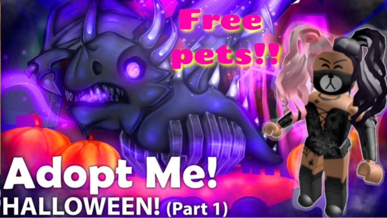 Roblox Adopt Me Halloween Pets Adopt Me Halloween Update 2019 How To Get Free Halloween Pets And Items Youtube