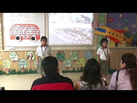 MBIS Grade 1 Culmination of Unit 4 | Area of Inquiry   Topic Transport