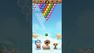 shoot bubble-fruit splash gameplay | game viral | game populer screenshot 3