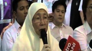 Wan Azizah: His life was given to fight oppression