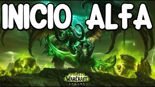 CAZADOR DE DEMONIOS | MISIONES DE INICIO (World of Warcraft LEGION) [ALFA]