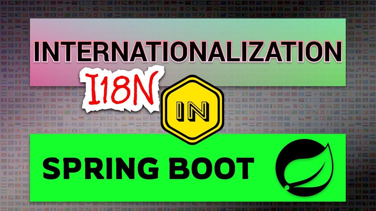 Internationalization (i18n) in Spring Boot