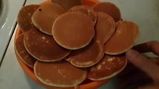 Пышные панкейки из рисовой муки😋 Простой рецепт (l'm Mariya)