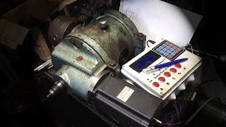 Цифрова УДГ. Тест УДГ-250 Arduino 2DM860H Nema34 Цифрова електронна електронная зуборез rotary table