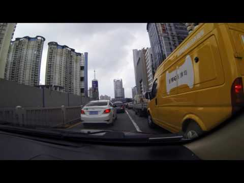 Driving in China - Shenzhen 2016
