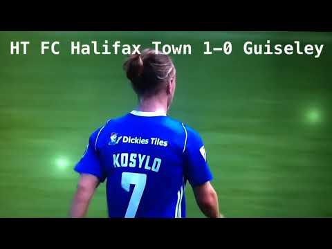 FC Halifax Town v Guiseley